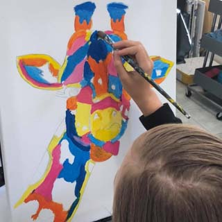 brisbane kids art classes at paint n pour art studio